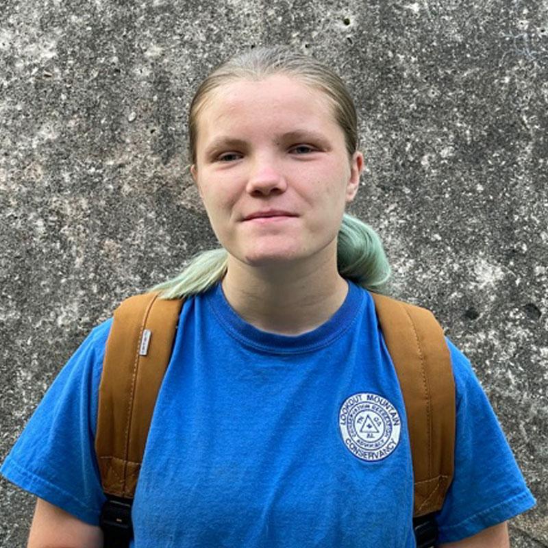 Head shot of Ashley - LMC Intern