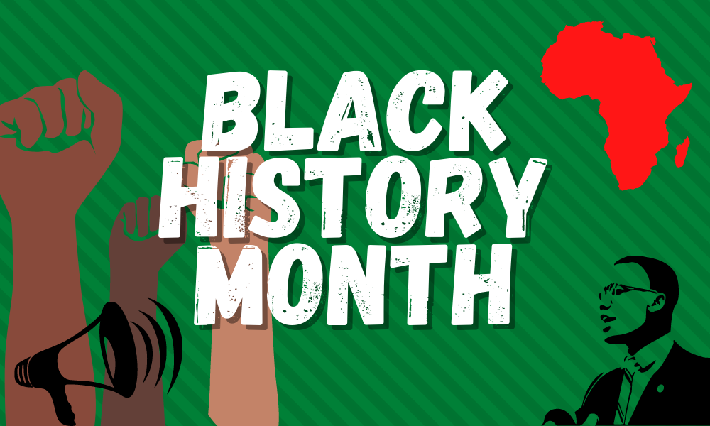Canva creation for Black History Month