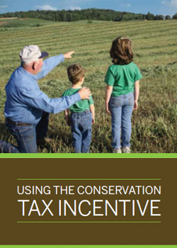 Using the conservation tax incentive