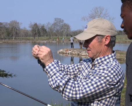 World Renown Fishing Executive Inspired by Local Student Partnership