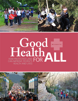Saving Land Spring 2013 Good Health for All, cover