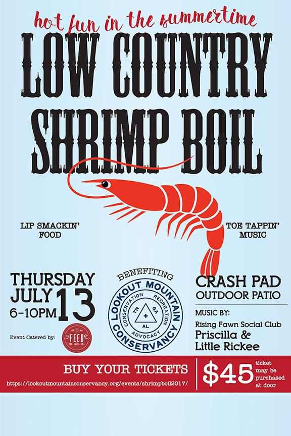 Shrimp Boil 2017 poster