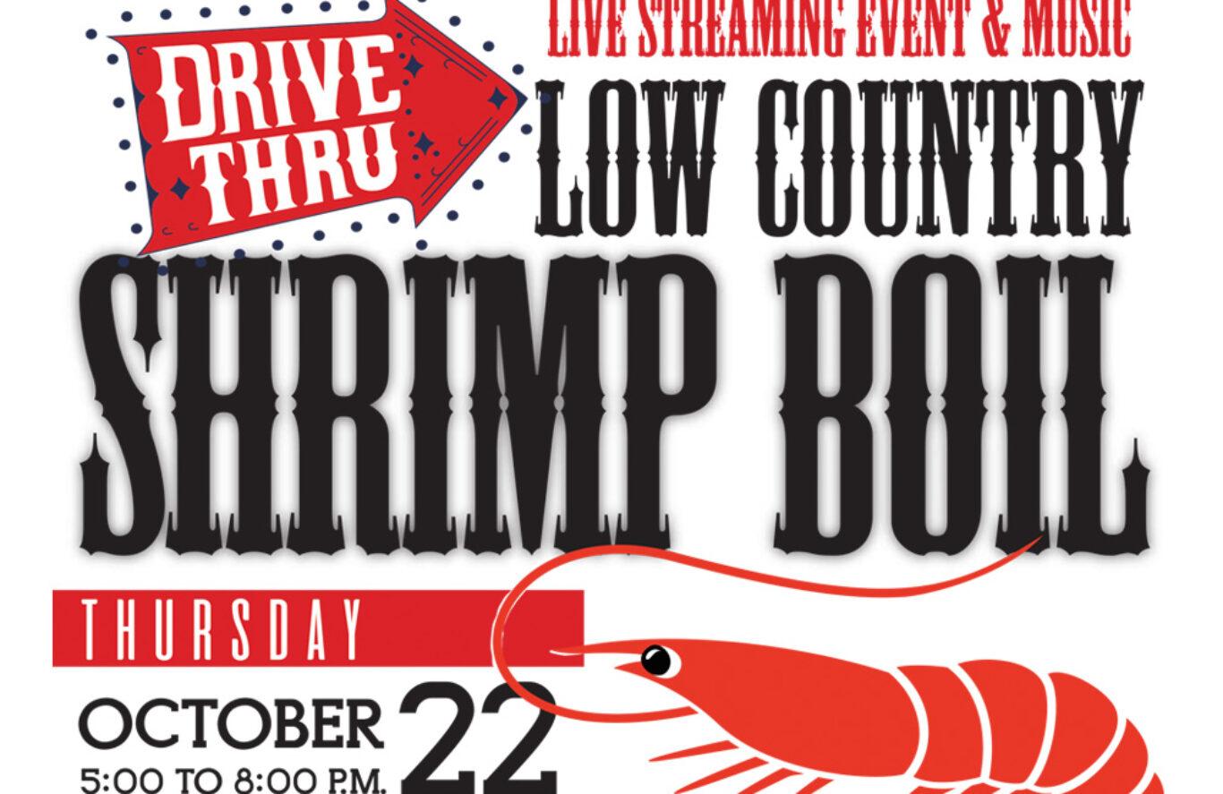 Crazy good food & amazing live music – Shrimp Boil 2020
