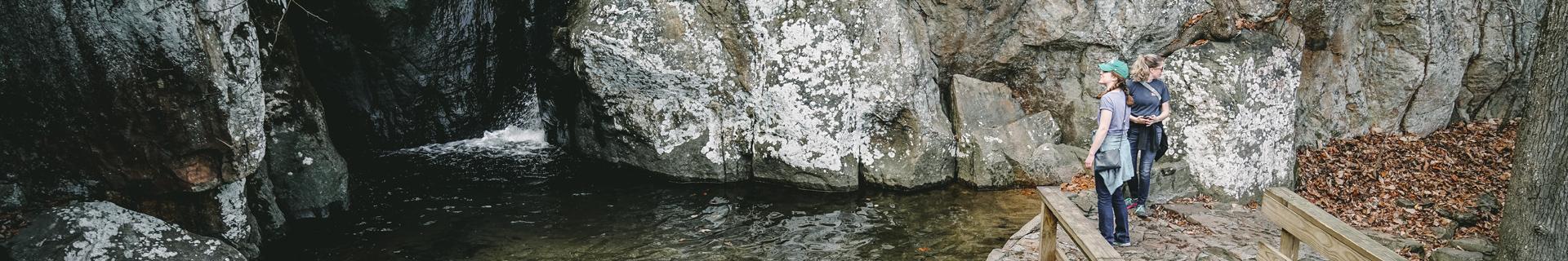 St. Elmo waterfall