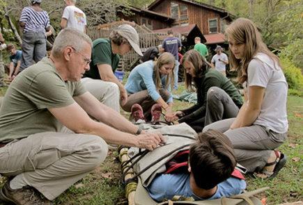 Wilderness First Aid demo scenario