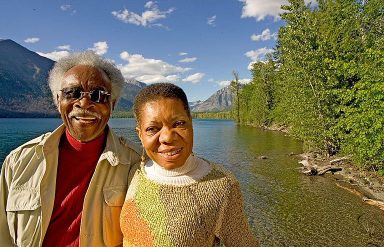 Frank and Audrey Peterman in National Park